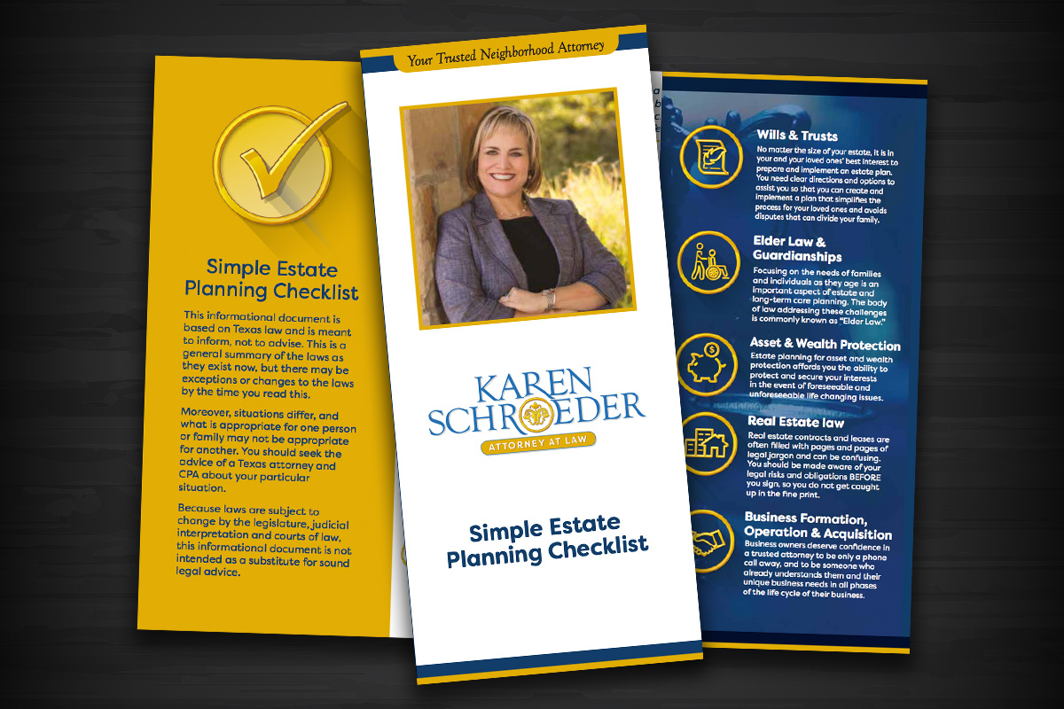 Karen Schroeder Law Brochure